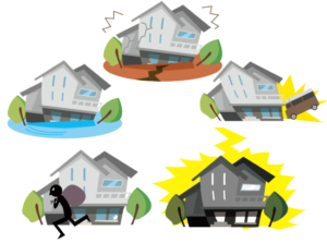 火災保険申請特徴1_様々な自然災害で使える